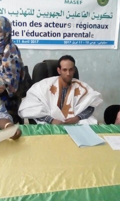 مستشار الوالي المكلف بالشؤون السياسية والإجتماعية السيد المختار ول أحمد ول باب
