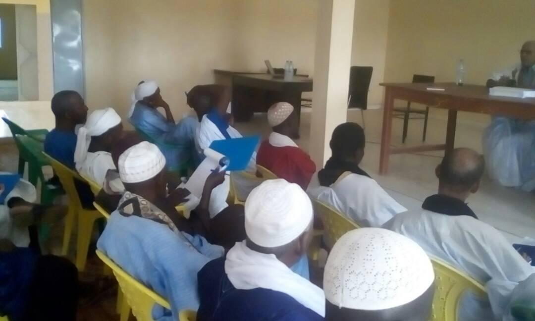 صورة من المشاركين في الوشة التكوينية