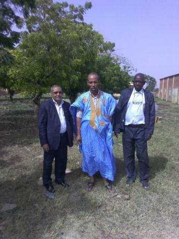 اللجنة التي زارت المدرسة رقم 2 اليوم